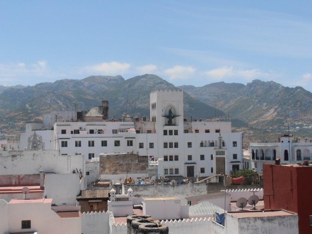 Vistas de Tetuán desde la azoteda del Riad El Reducto - Los viajes de Margalliver